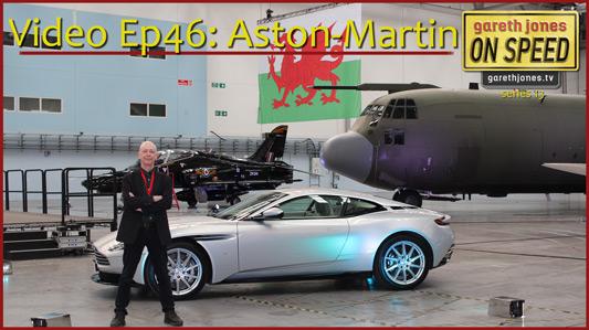 Gareth Jones at Aston Martin St Athan
