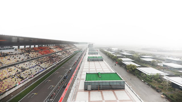Free Practice 2 in China cancelled due to poor weather conditions
