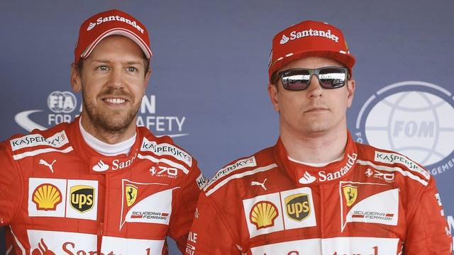 Vettel and Räikkönen score all-Ferrari front row after Sochi qualifying