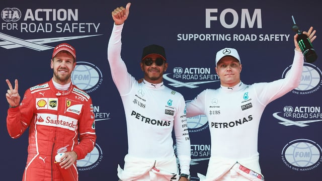 Hamilton and Vettel set up Shanghai showdown with front row positions