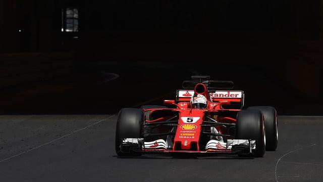 Ferrari secure 1-2 finish with Vettel taking victory in Monaco
