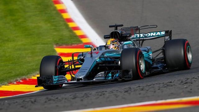 Hamilton equals pole positions record at Spa