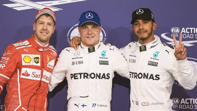 Bottas scoops pole position for final round of 2017